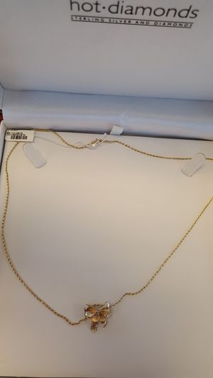 14k bow pendant chain for Sale in Henderson, NV