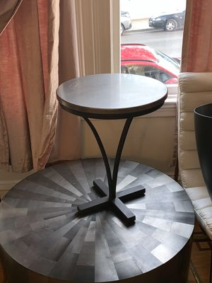 Stainless Steel Side/End Table for Sale in San Francisco, CA