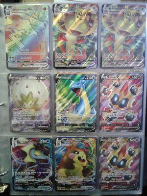 170 Ex, gx, break, secret rare, full art, mega ex, V, and V MAX Pokemon cards for Sale in Tucson, AZ