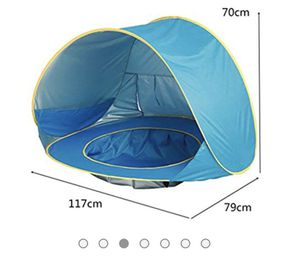 Baby Tent Summer Camping Or The Beach $25 for Sale in Fresno, CA