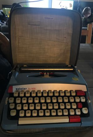 Antique Webster xl 800 typewriter for Sale in Newberg, OR