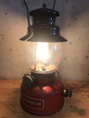 Red KampLite Single Mantle Duel Fuel Liquid Gas Vintage Coleman for Sale in Georgetown, KY