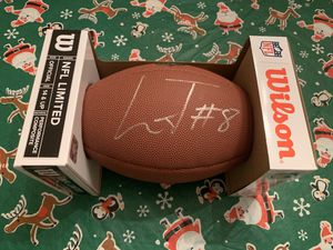 Lamar Jackson Autographed Football for Sale in Baltimore, MD