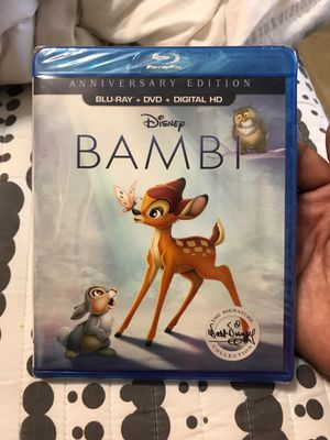 Bambi Anniversary Edition New with digital code for Sale in Harlingen, TX