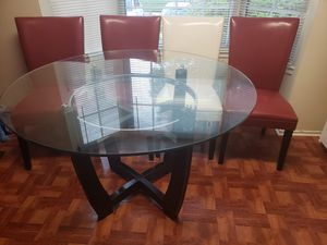Kitchen Table with Chairs included for Sale in Rockville, MD