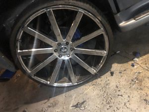 """Trade 28"""" dub ballers for monster tires for Sale in Inglewood, CA"""