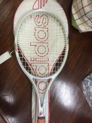 ADIDAS TENNIS RACKET WITH FULL COVER for Sale in Los Angeles, CA