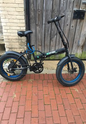 Exoteric electric foldable bike for Sale in Washington, DC