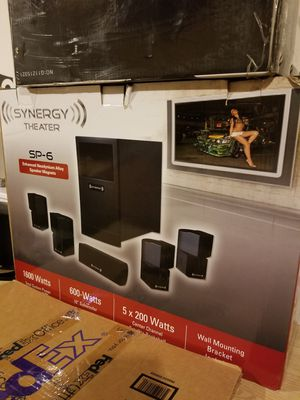 "Synergy home theater speakers ""N.I.B."" for Sale in Elgin, SC"