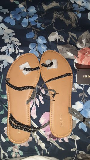 Sandals Black or Brown for Sale in Homestead, FL