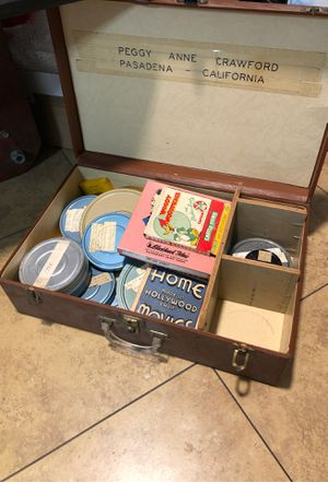 Vintage Antique Film 1930's 1940's 1950's 1960's 8mm & Suitcase for Sale in Los Angeles, CA