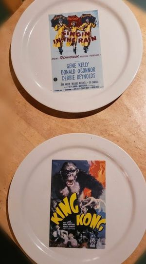 2 movie plates for Sale in Junction City, OR