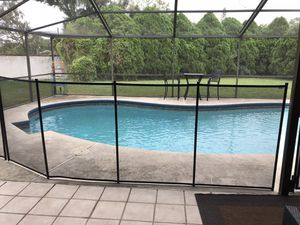 Pool safety fence 12' section BRAND NEW for Sale in Tampa, FL