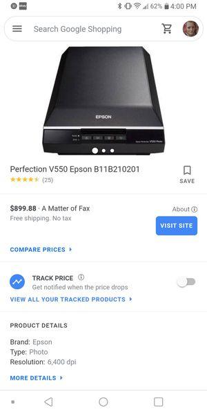 Epson Perfection V550 Photo scanner for Sale in Sebring, FL