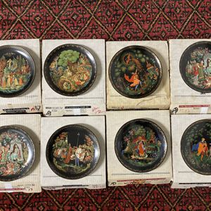 Russian Legends Decorative Plates Set Of 8 for Sale in Vancouver, WA