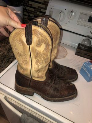 Men double H boots for Sale in Bartow, FL