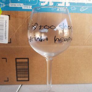 Wine Glass for Sale in Nashville, TN