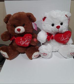 "Brand New 12"" Teddy Bear Plush Mu itsical Valentine's Day Gift for Sale in Hacienda Heights, CA"