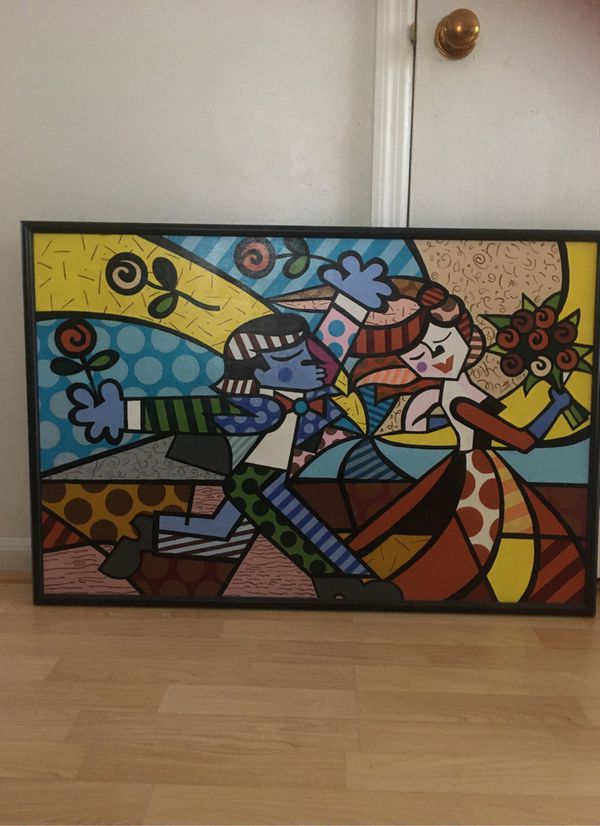 Wall Handmade acrylic painting