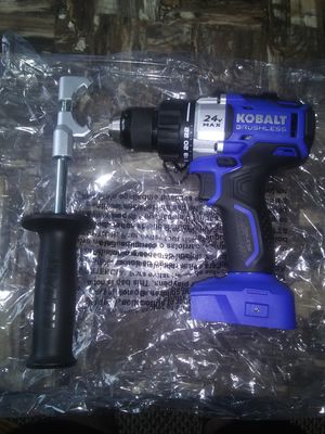 Kobalt 24 Volt brushless drill driver (tool only) no battery no charger for Sale in Garner, NC