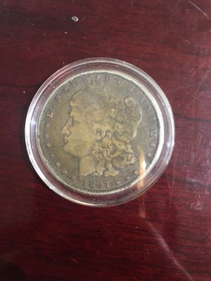 1897 Morgan Silver US One Dollar Coin for Sale in Beverly Hills, CA