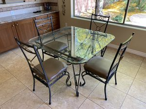 Kitchen Table and Chairs for Sale in Avondale, AZ