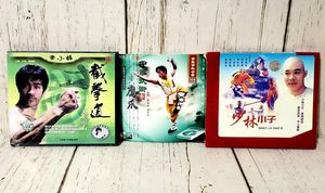 DVD Lot of 3 Kung Fu Chinese Release Films Jet Li Bruce Lee EXCELLENT for Sale in Harrisonburg, VA