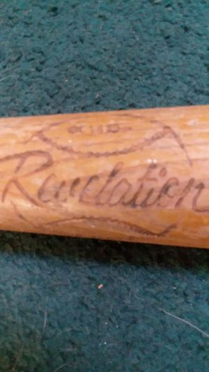 1940s wooden baseball bat for Sale in Burrillville, RI