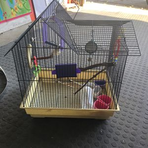 Bird Cage With 5ft Stand for Sale in Bellwood, IL