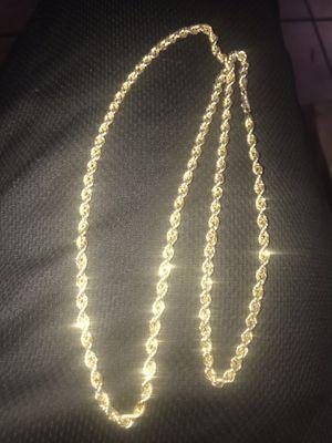 10k gold chain for Sale in Baldwin Hills, CA