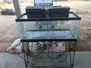 20 gal aquarium with 2 filters for Sale in Scottsdale, AZ