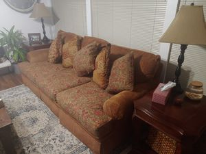 Massoud sofa with ottoman for Sale in Bothell, WA