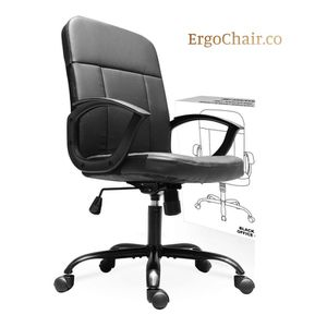 Great Ergonomic Mid Back Leather Office Chair for Sale in Scottsdale, AZ
