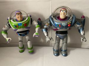 2 buzz light years $40 toy story for Sale in Fresno, CA