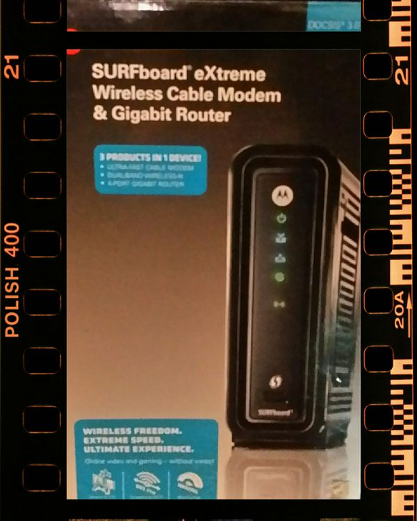 Motorola eXtreme 3in1 Cable Modem/WiFi/Router