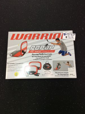 Warrior Pop Up Kit for Sale in Bellevue, WA