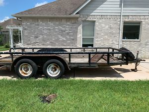 16 foot utility trailer 3500 pound axle for Sale in Houston, TX