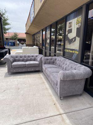 Light gray sofa set 2pcs 🔥🔥🔥🔥🔥 for Sale in Las Vegas, NV