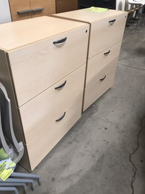 Office furniture file cabinet for Sale in Ontario, CA