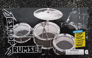 Desktop Drum Set with Cymbol in box for Sale in Palatine, IL