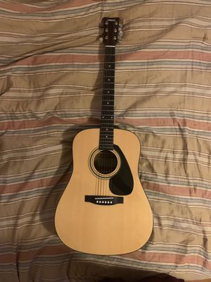 Yamaha Guitar and Alvarez Hard Case (Used, Excellent Condition) for Sale in Rockville, MD