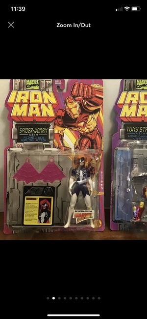 (2 toys)- Iron Man Toy Biz Action Figure for Sale in Ruskin, FL