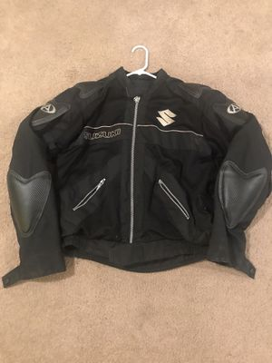 Suzuki Motorcycle Jacket for Sale in Clinton, MD