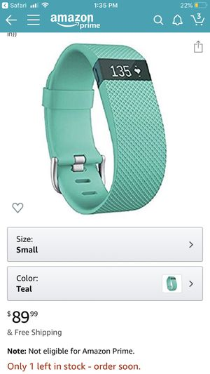 Fitbit Charge HR for Sale in Damascus, MD