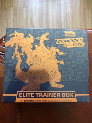 Pokemon champions path etb and more/hidden fates for Sale in Los Angeles, CA