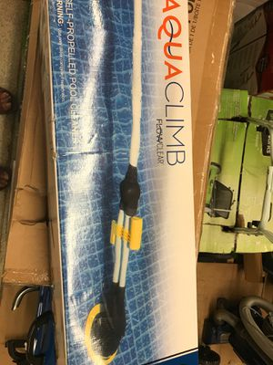 One self pro propelled pool cleaner Open box for Sale in Parma Heights, OH