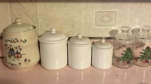 Kitchen canisters and cookies canister for Sale in Mount Rainier, MD