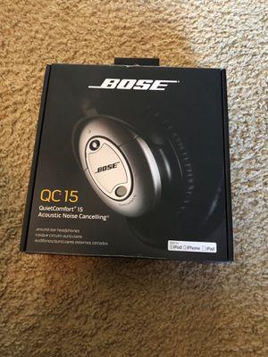 Bose QC15 - Quiet Comfort Acoustic Noise Cancelling Headphones for Sale in Queen Creek, AZ