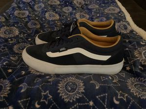 Men's size 7 Vans only worn once, paid 100.00 for Sale in Elmira, NY