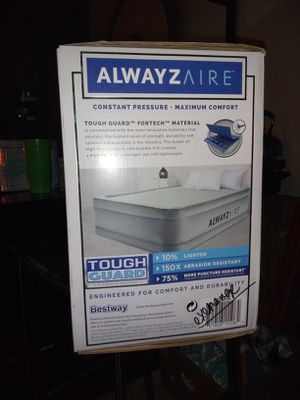 Always Aire queen double air mattress for Sale in Austin, TX